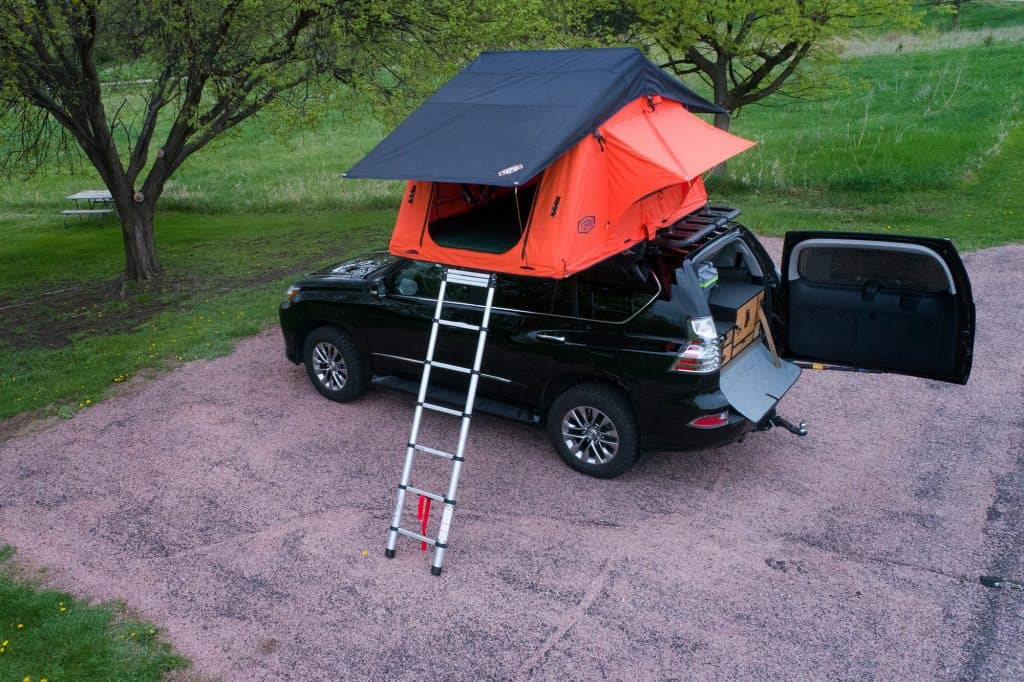 Tepui rooftop tent owned by Sioux Falls, SD based landscape landscape photographer Paul Heckel.