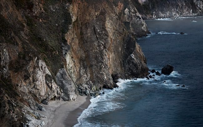 Photograph of the Big Sur Coast near Bixby Bridge California by Sioux Falls South Dakota based landscape photographer Paul Heckel.